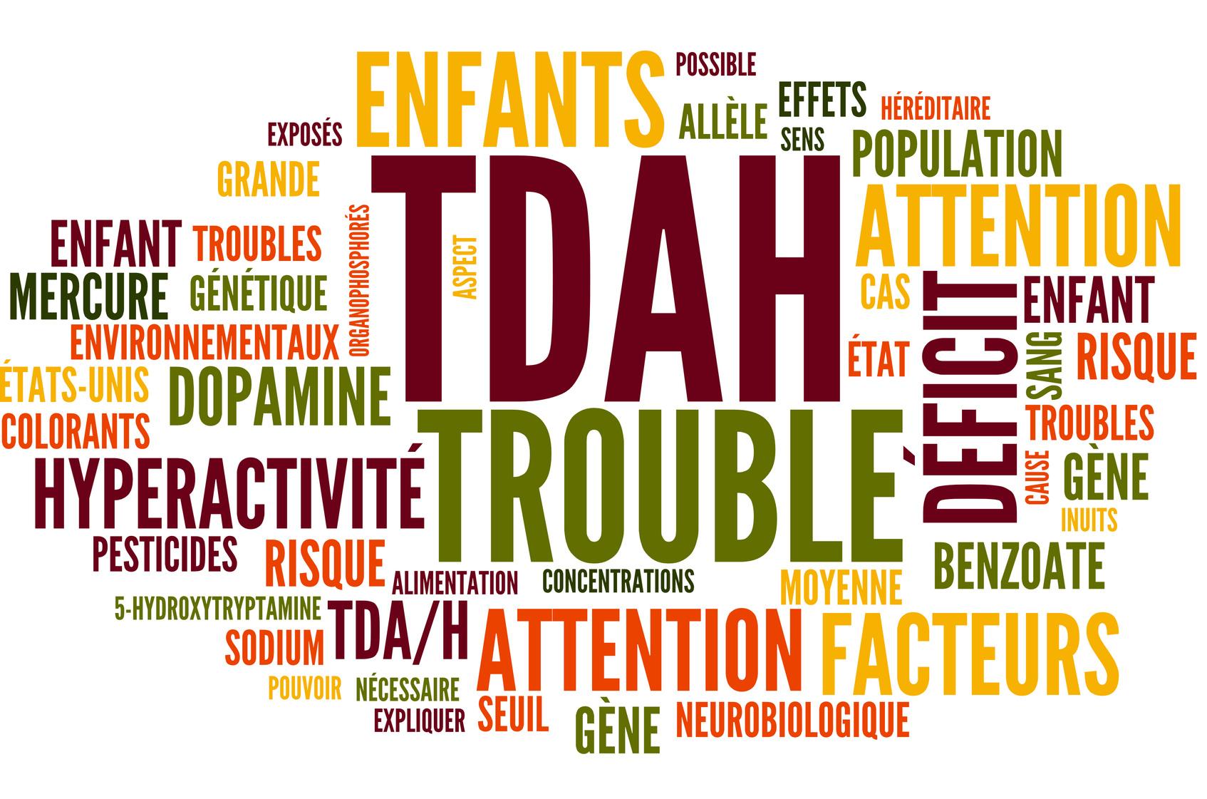 TDAH: Trouble du Dficit de l'Attention avec Hyperactivit TDA